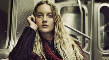 Codie Young Wears Chic City Styles in Vanity Fair Italy