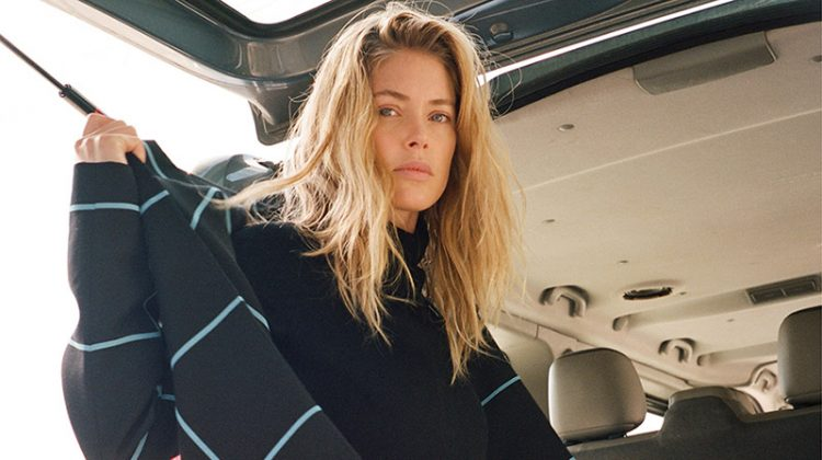 Doutzen Kroes Layers Up in Fall Fashions for Self Service