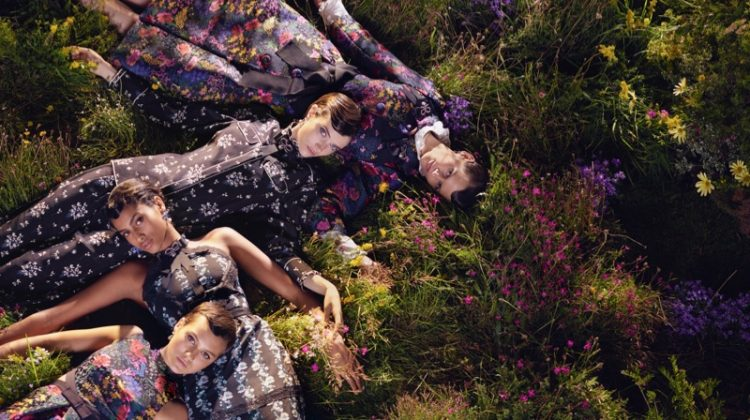 ERDEM x H&M Channels Vintage Vibes for Campaign