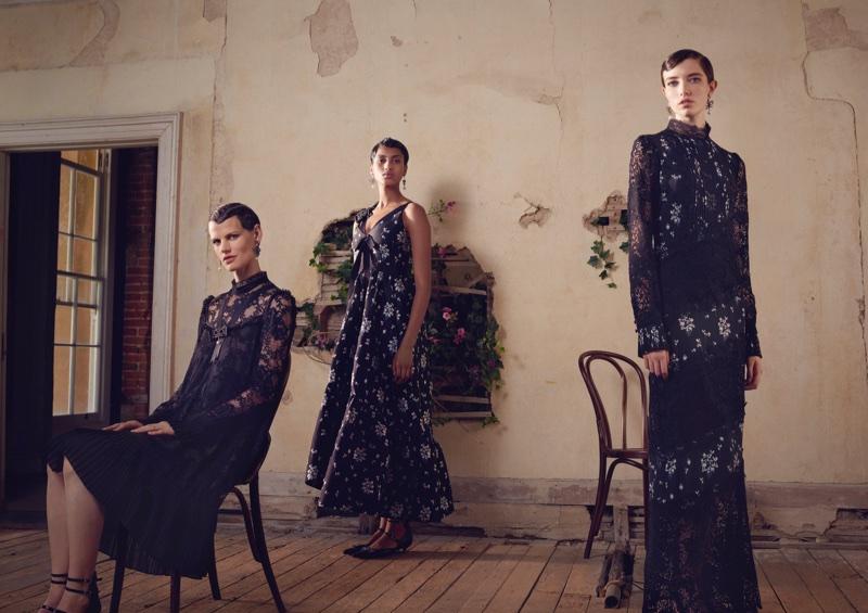 ERDEM x H&M campaign features rich florals and lace