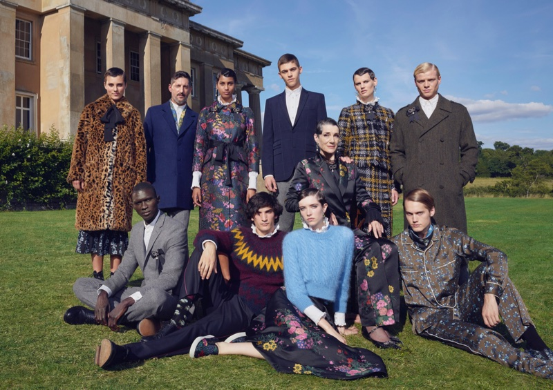ERDEM x H&M features familial style portraits for collaboration campaign