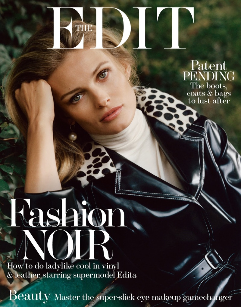 Edita Vilkeviciute on The Edit October 26th, 2017 Cover
