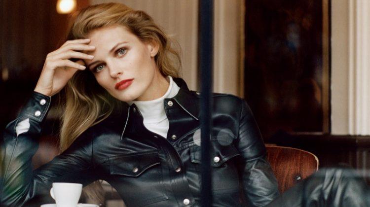 Edita Vilkeviciute Models Parisian Chic Styles in The Edit