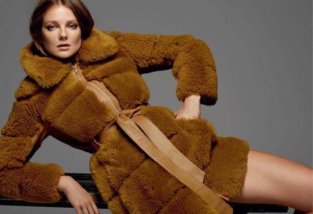 Eniko Mihalik Impresses in Fall Fashion for Harper's Bazaar Ukraine