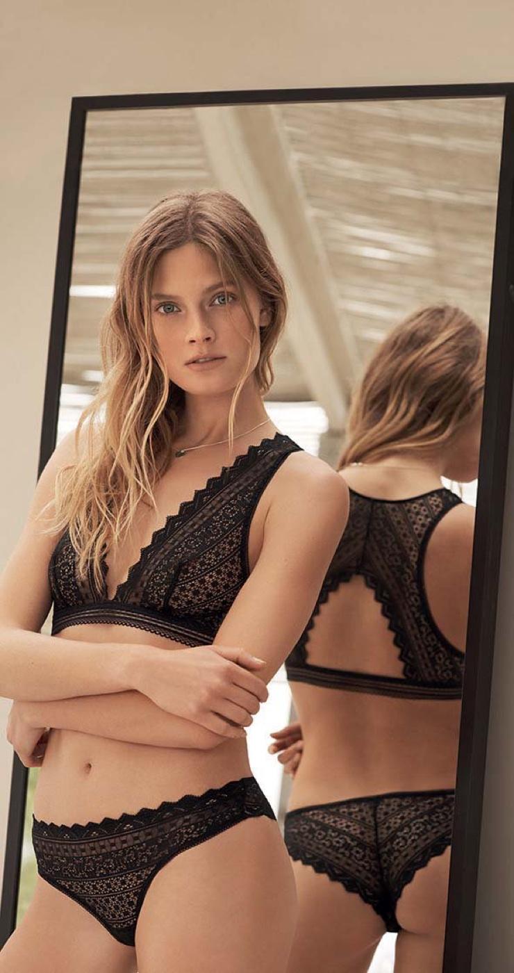 Etam taps Constance Jablonski for fall-winter 2017 lingerie campaign
