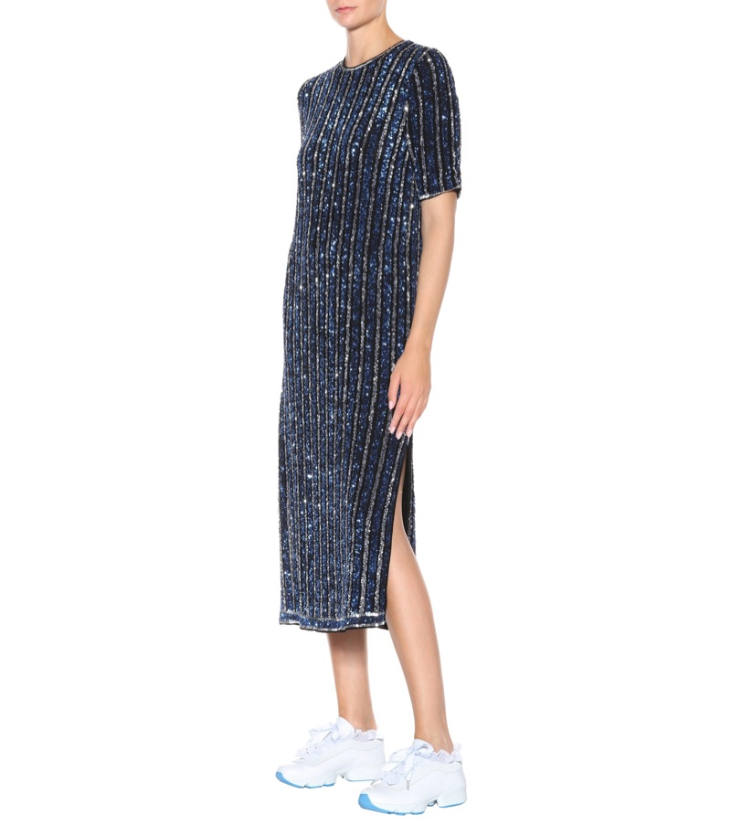 Ganni Pfeiffer Sequined Dress $1,010