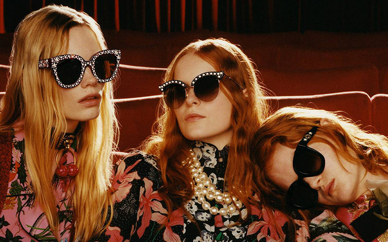468fb95ca5 Gucci Goes to the Movies for Fall 2017 Eyewear Campaign