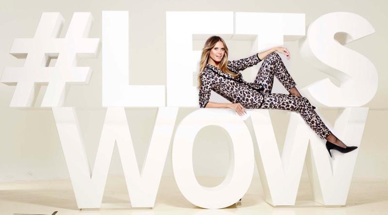 The Esmara by Heidi Klum campaign features the hashtag #LETSWOW