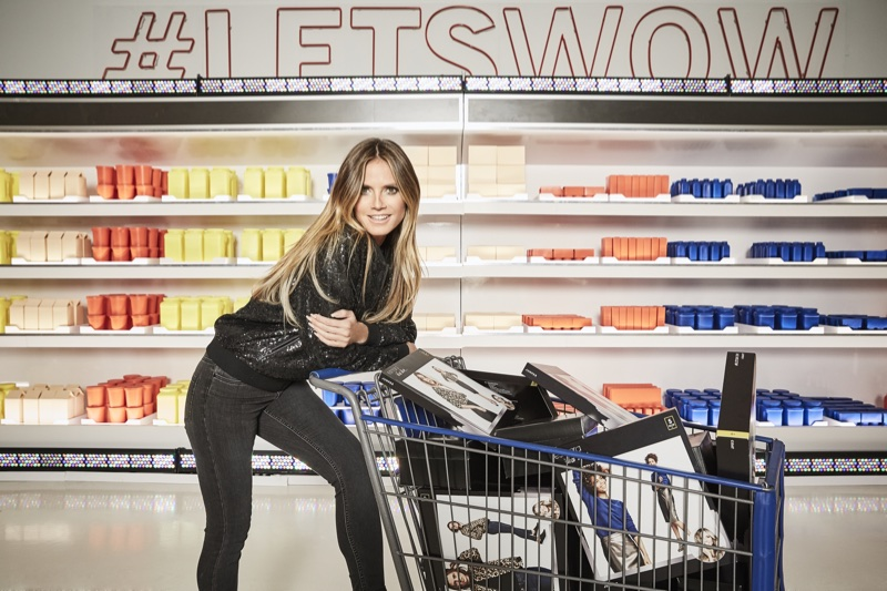 Heidi Klum fronts Esmara by Heidi Klum fashion campaign