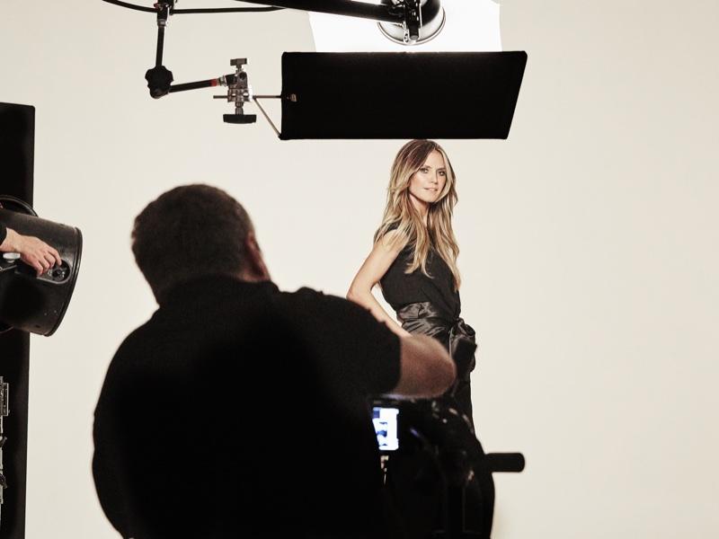 Rankin shoots Heidi Klum for Esmara by Heidi Klum campaign