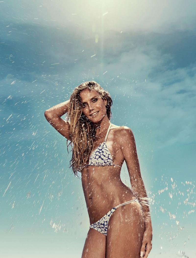Heidi Klum stars in Heidi Klum Swim campaign