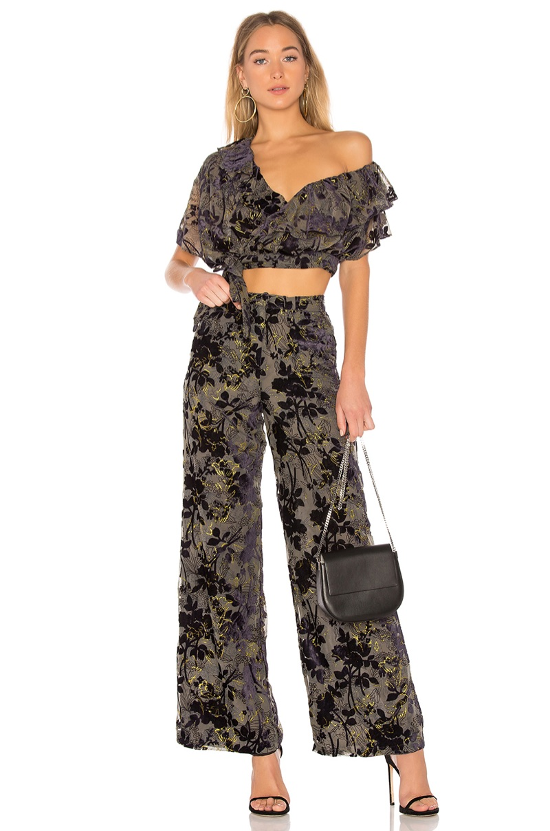 House of Harlow 1960 x REVOLVE Azalea Top $138 and Mona Pant $188