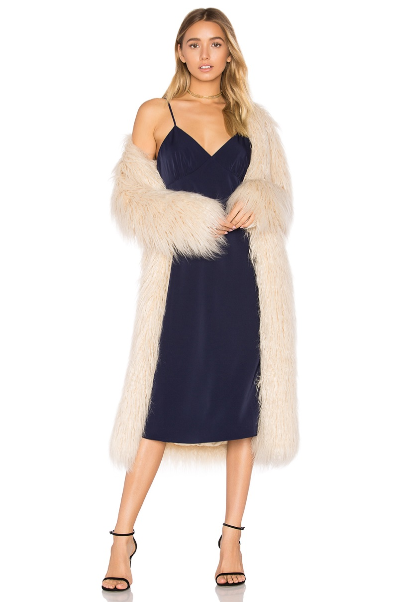 House of Harlow 1960 x REVOLVE Marisa Faux Fur Coat $310