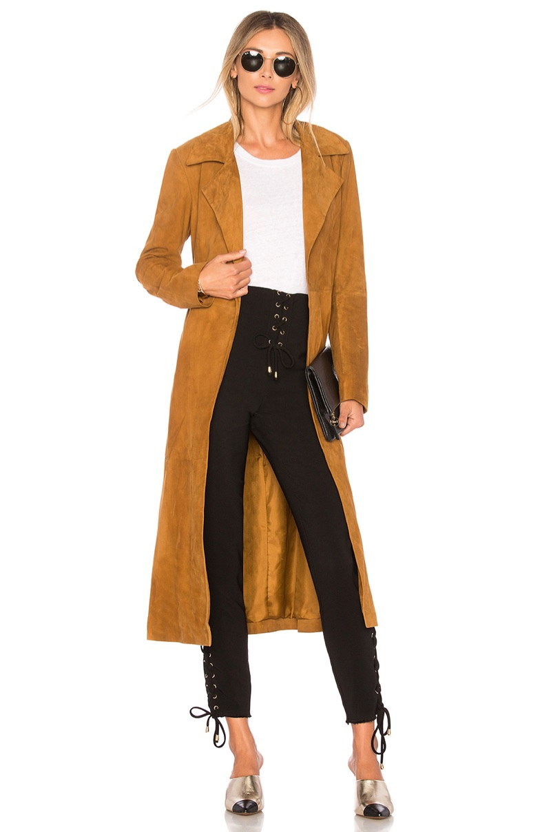 House of Harlow 1960 x REVOLVE Ryder Suede Jacket $898