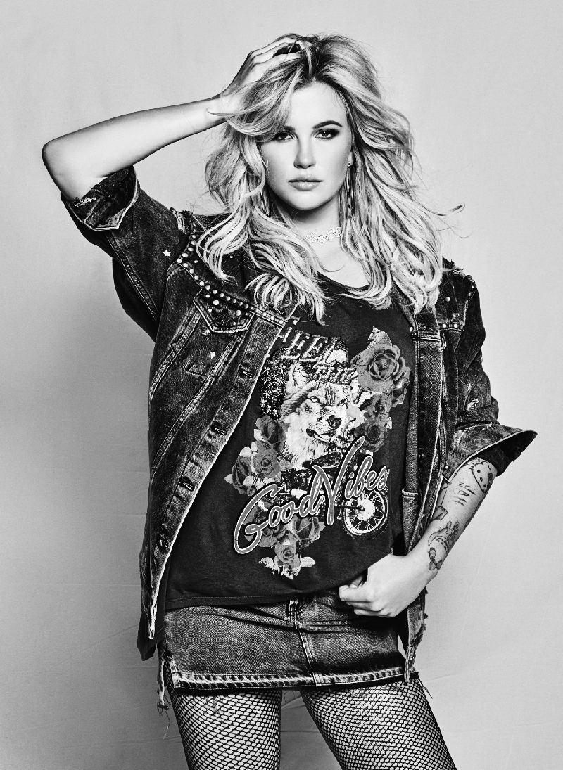 Rocking denim, Ireland Baldwin fronts Guess Jeans' fall-winter 2017 campaign