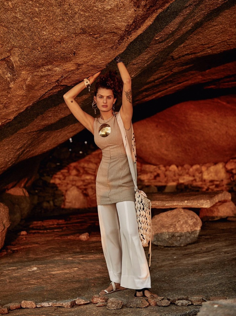 Isabeli Fontana Exudes Pure Natural Beauty in Vogue Brazil