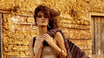 Isabeli Fontana is a Natural Beauty in Vogue Brazil