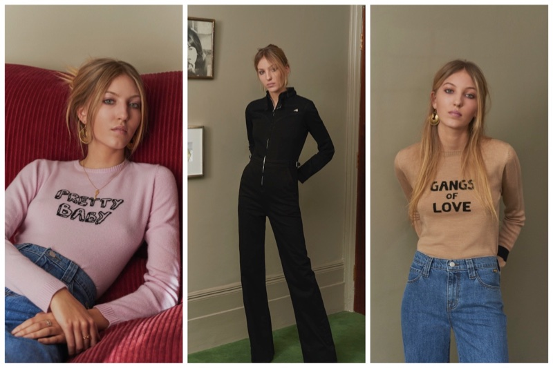 J Brand and Bella Freud clothing collaboration