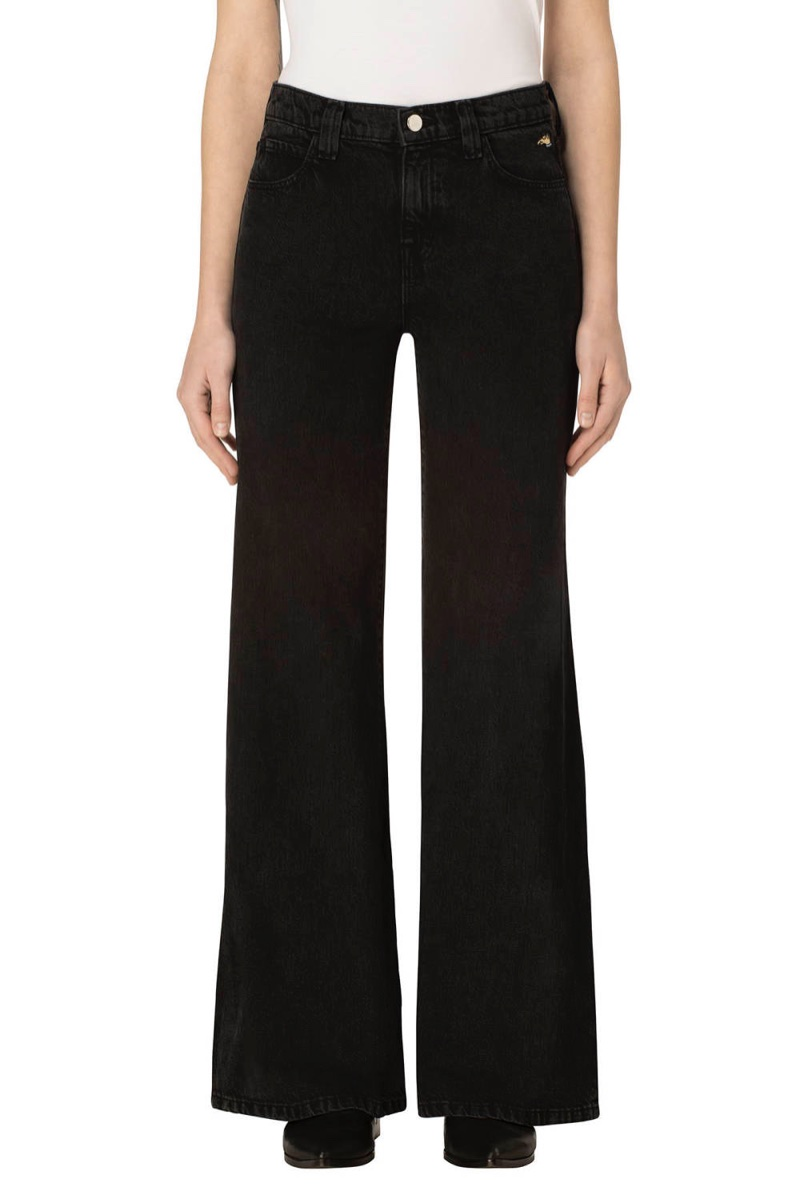 J Brand x Bella Freud Jane High Rise Straight Jeans in Overthrow $248