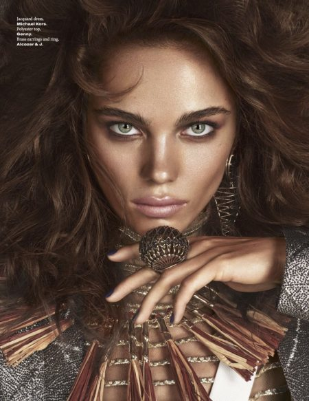 Jena Goldsack Models Super Glamorous Fashion for L'Officiel Singapore