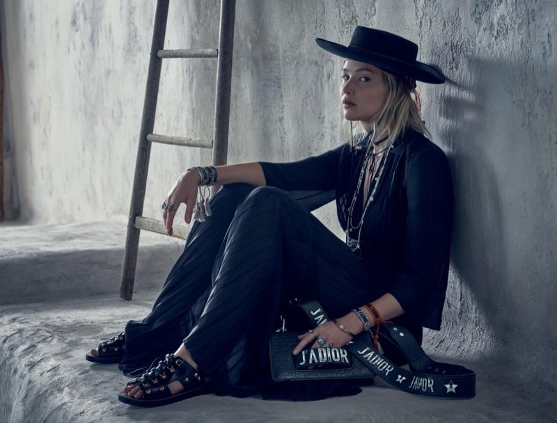 Brigitte Lacombe photographs Jennifer Lawrence in Dior's resort 2018 campaign
