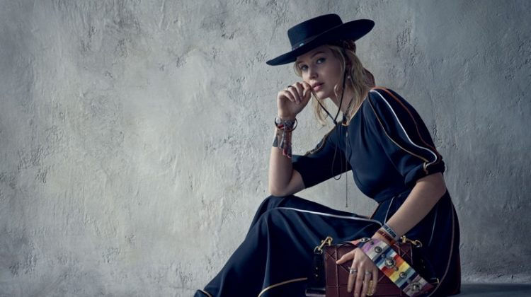 Jennifer Lawrence stars in Dior's resort 2018 campaign