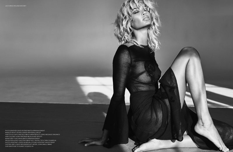 Joan Smalls Goes Blonde for Sizzling Narcisse Magazine Spread
