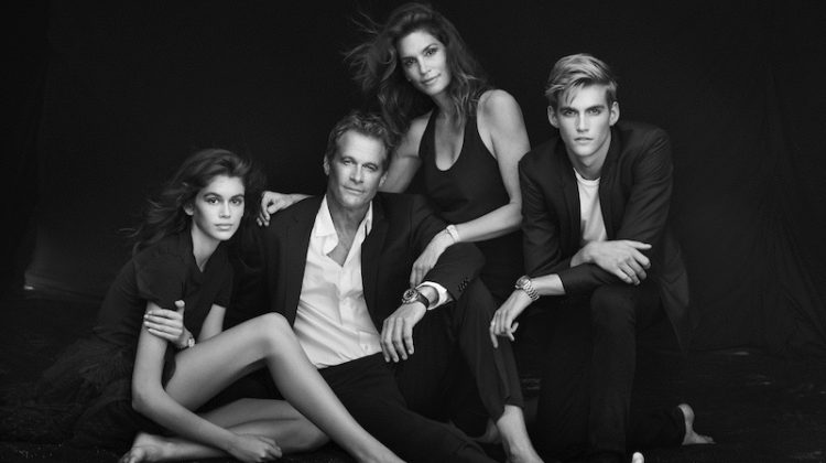 Cindy Crawford & Kaia Gerber Front OMEGA Watches Campaign