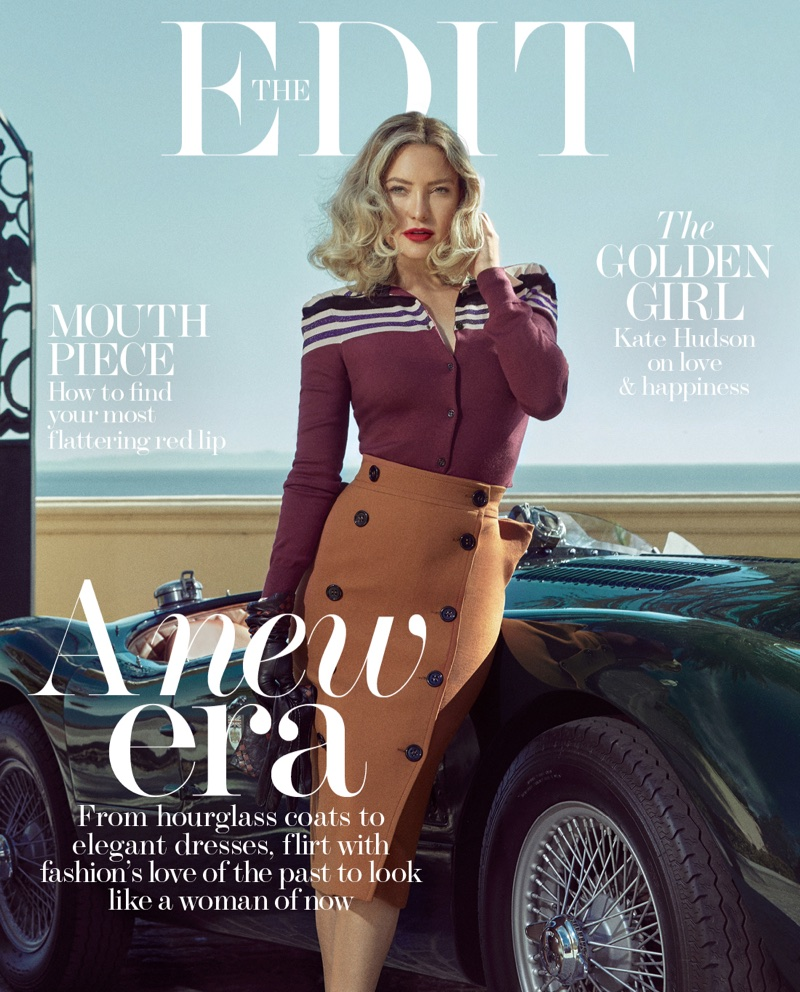 Kate Hudson on The Edit October 19th, 2017 Cover