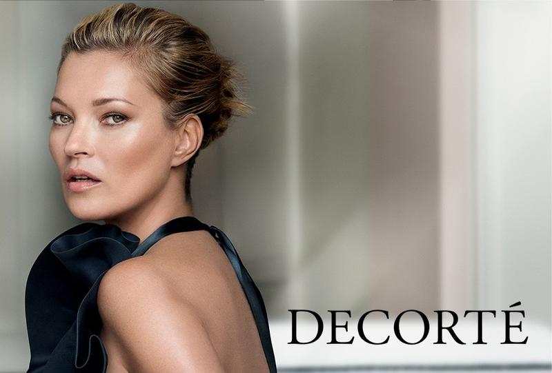 Kate Moss for Decorté cosmetics' latest campaign