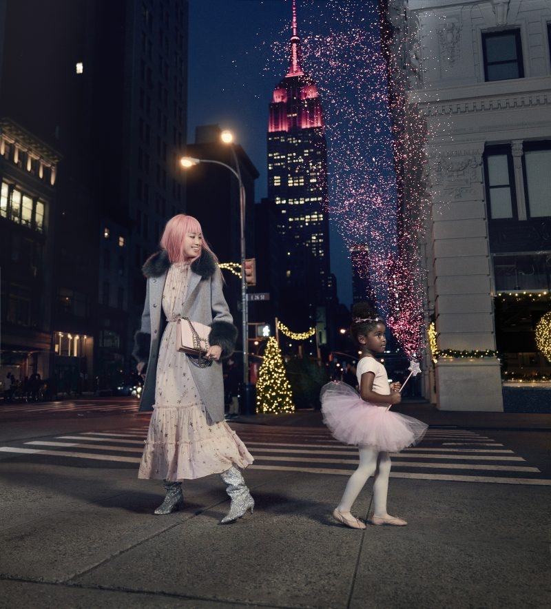Kate Spade captures Holiday 2017 campaign in New York City