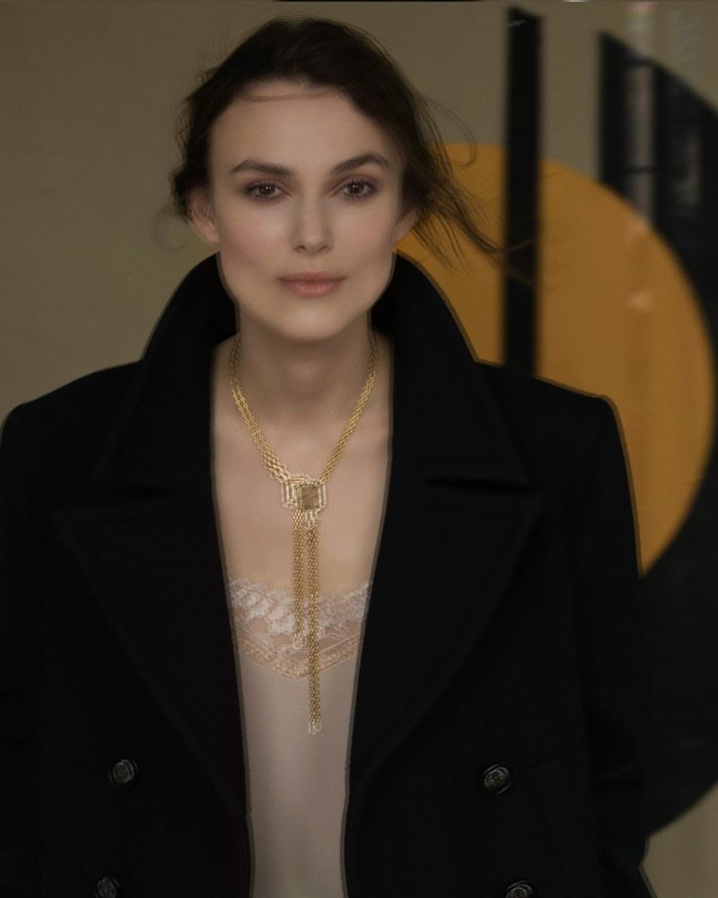 Keira Knightley stars in Chanel Gallery Jewelry campaign