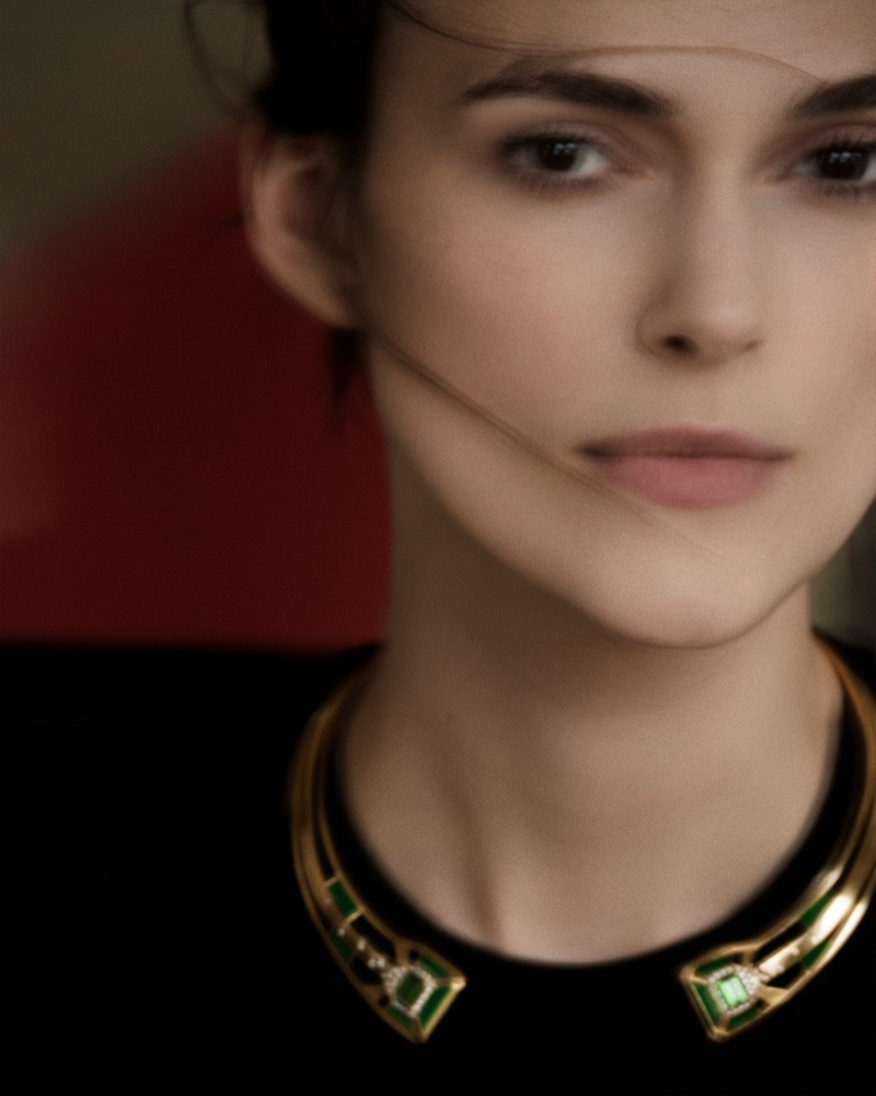 Actress Keira Knightley appears in Chanel Gallery campaign
