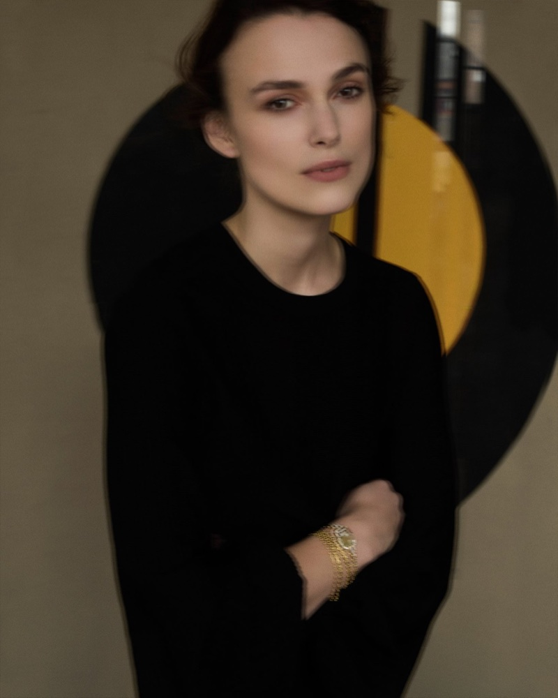 Keira Knightley poses for Sarah Moon in Chanel Gallery campaign