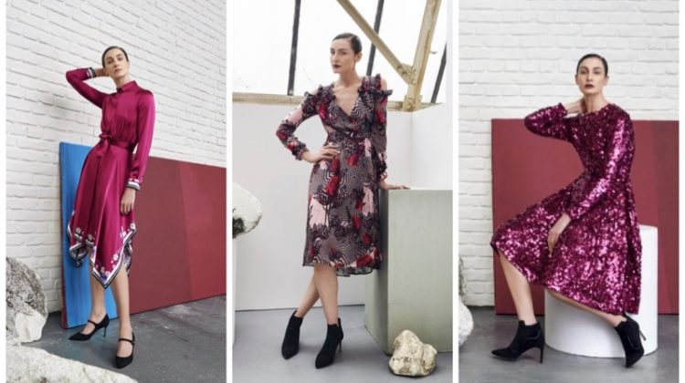 L.K. Bennett x Preen clothing