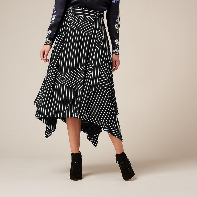 L.K. Bennett x Preen Shelly Print Skirt $295