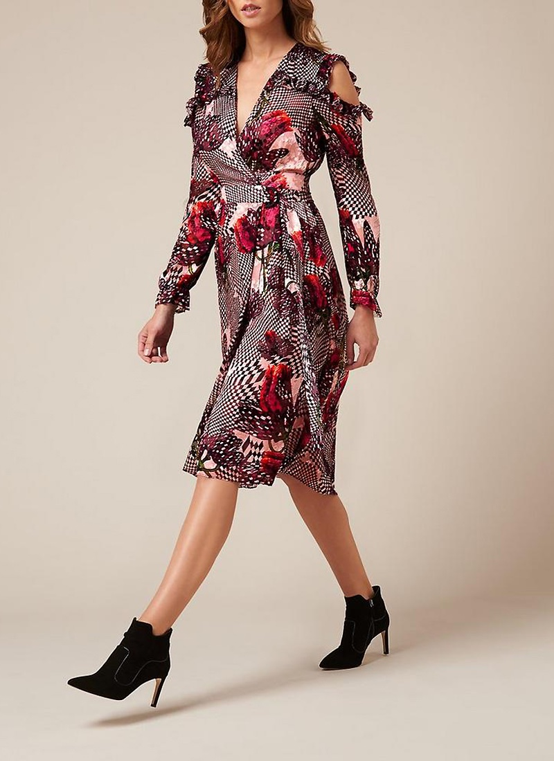 L.K. Bennett x Preen Sioux Dress $695