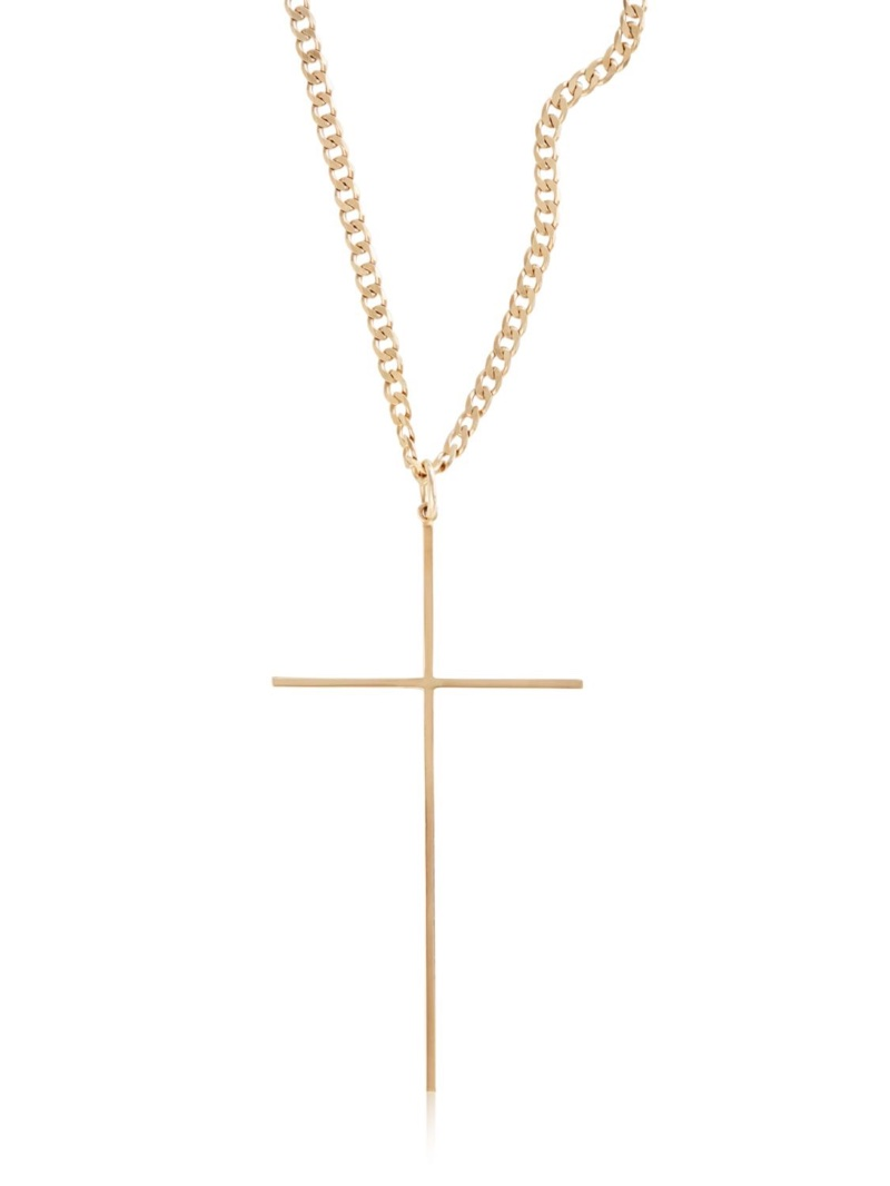Magdalena Frackowiak Jewelry Cross Pendant Necklace $1,012