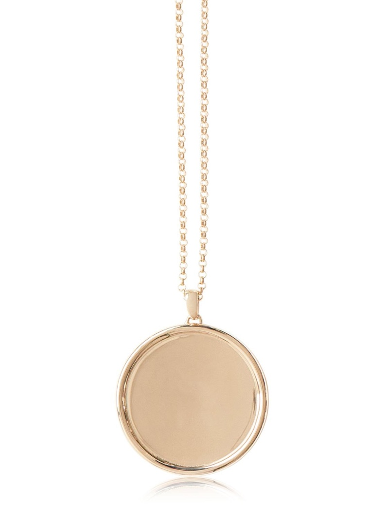 Magdalena Frackowiak Jewelry Large Disc Pendant Necklace $4,529