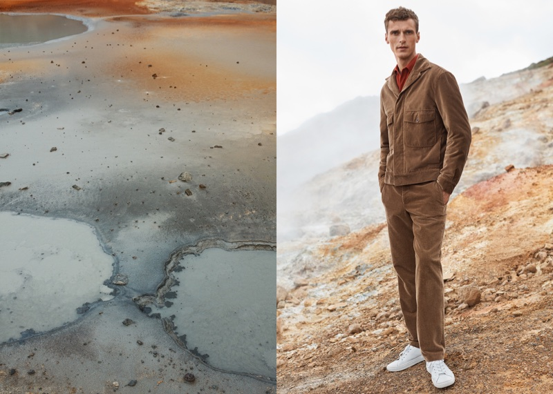 Mango Committed features casual menswear in fall-winter 2017 campaign