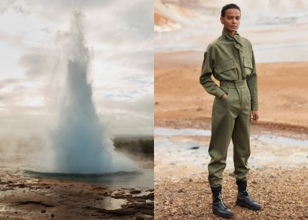 An image from Mango Committed's fall 2017 advertising campaign