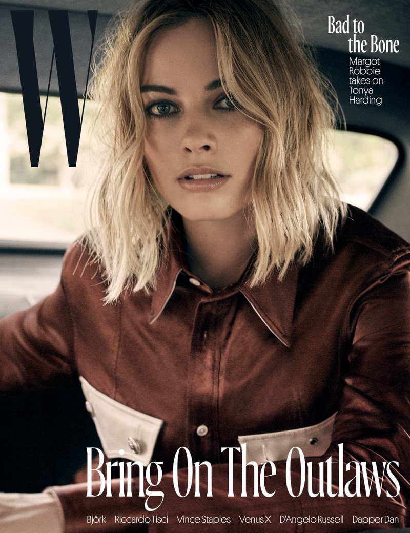Margot Robbie on W Magazine November 2017 Cover