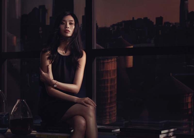 Ming Xi stars in Daniel Wellington watch campaign