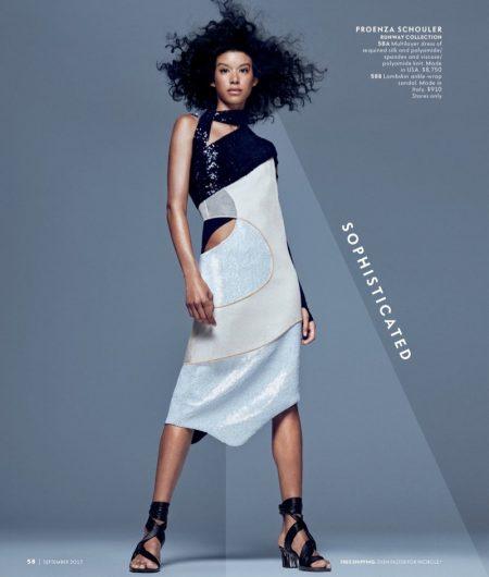 Coco Rocha, Soo Joo Park Front Neiman Marcus 'Art of Fashion' Fall 2017 Campaign
