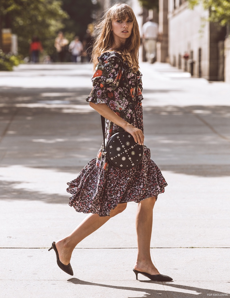 Dress Rebecca Taylor and Bag Emm Kuo