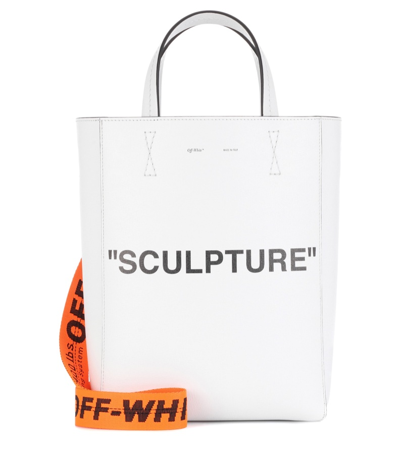 Off-White Structure Leather Tote $952