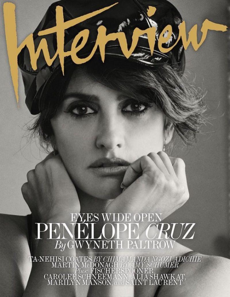 Penelope Cruz on Interview Magazine October 2017 Cover