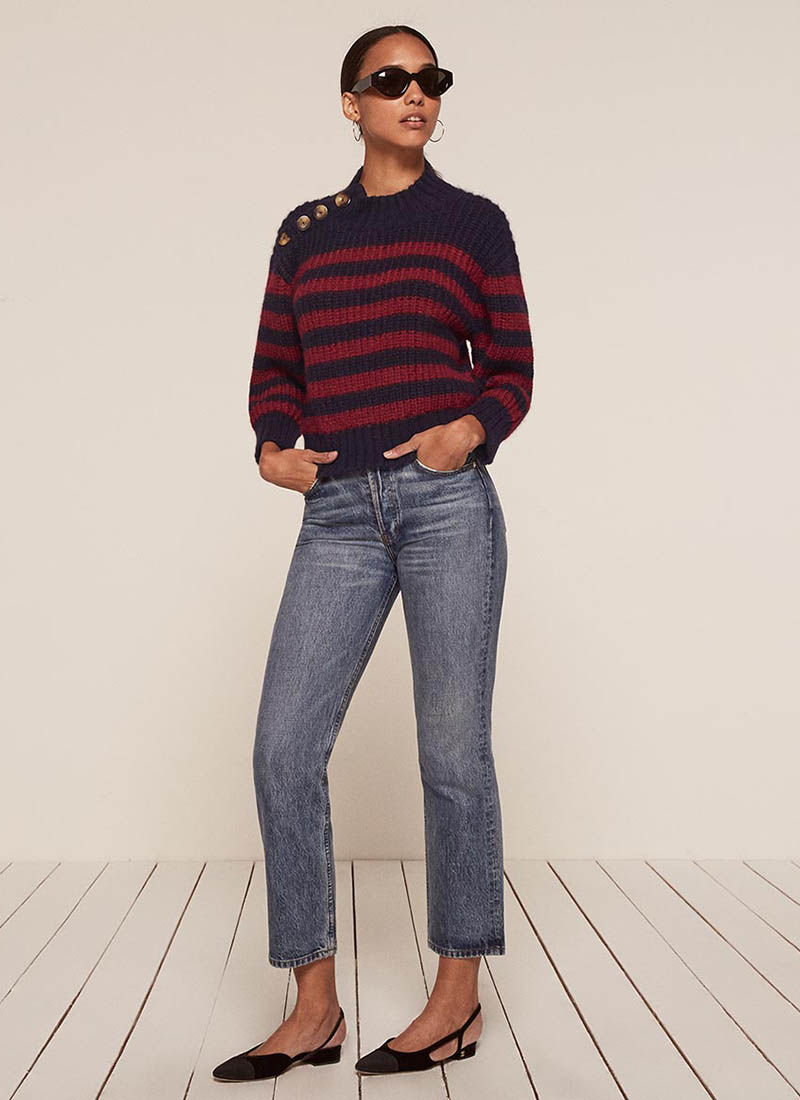 Reformation x Doen Mariner Sweater $248