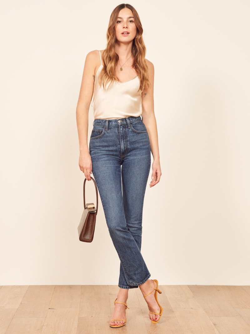 Reformation Stevie Ultra High Rise Jean in Perth $128