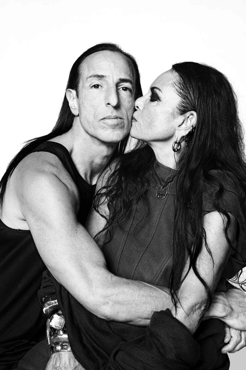 Rick Owens and Michéle Lamy by Danielle Levitt